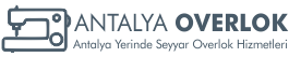 Antalya Yerinde Overlok – Seyyar Overlok ve Halı Tamiri